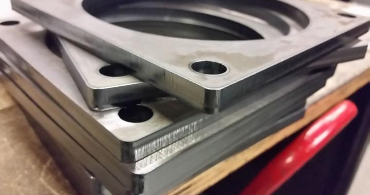Laserteile aus 10mm Stahlblech