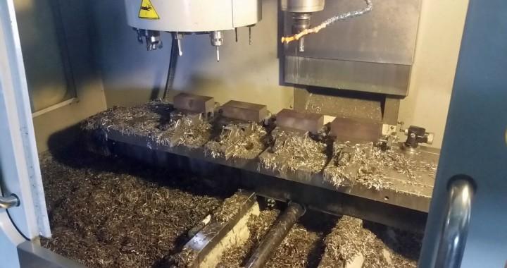 CNC Fraesen Stahl