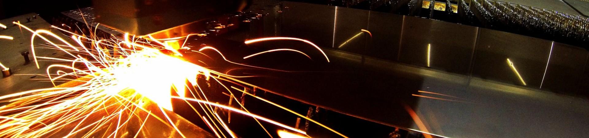 Highspeed Laserschneiden von Blech