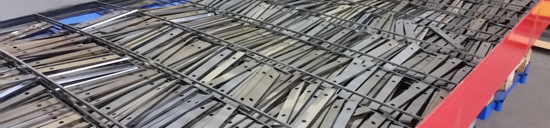 Laserteile aus Stahl